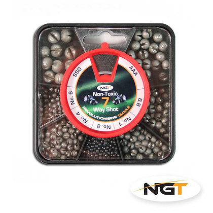 7 Way NGT Non Toxic Split Shot