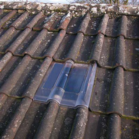 Clay Double Roman Tile