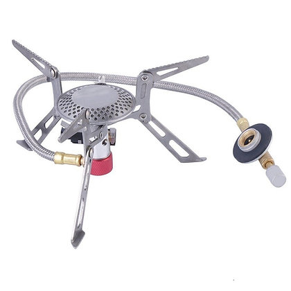 Camping Gas Stove Outdoor Cooking Hiking Picnic 3000W Portable Stove