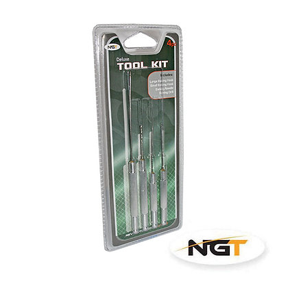 4pc Deluxe Baiting Tool Set on Double Blister