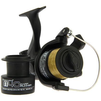 TT40 4BB 'Carp Runner' Reel With 10lb Line + Spare Spool