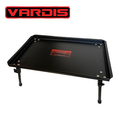 VARDIS LARGE ALLOY BIVVY BAIT TABLE WITH ADJUSTABLE ALLOY LEGS