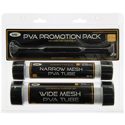 PVA Promotion Pack - 2 Tubes & Plunger on Blister