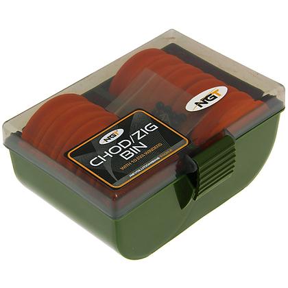 NGT Rig Box 950 - 10 EVA Large Chod / Zig Rig Winders (950)
