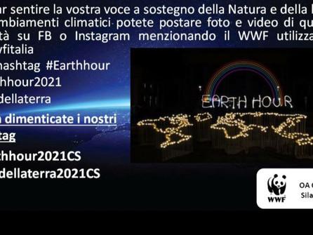 Sul Tirreno l'adesione a Earth hour, buio a sostegno della natura