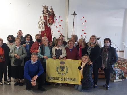 Bonifati, comunità argentina in festa per la Madonna del Sacro Rosario