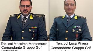 Catanzaro e Lamezia Terme, due nuovi comandanti ai gruppi della Guardia di finanza
