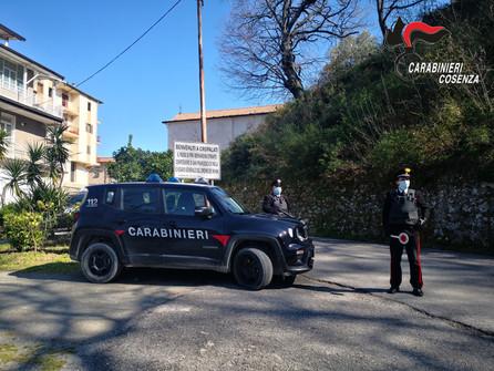 Cropalati, i carabinieri arrestano un 21enne e denunciano 7 persone
