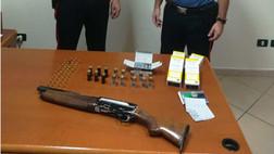 Cassano allo Jonio, trovato un fucile con il colpo in canna e munizioni, illegalmente detenuti