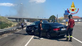 Squillace: incidente stradale con due feriti
