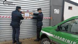 Torano, smaltimento illecito di rifiuti in un'autofficina: denunciato il proprietario
