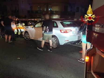 Catanzaro, incidente con ferito sul crocevia Nalini, zona sud