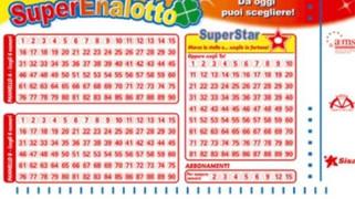 Il Superenalotto sorride a Scalea: centrato un 5 da 26mila euro