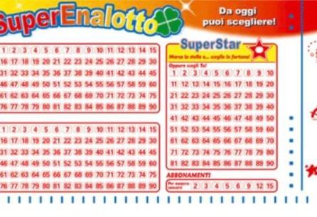 """SuperEnalotto, ancora la provincia di Cosenza protagonista: centrato un """"5"""" da oltre 31mila euro"""