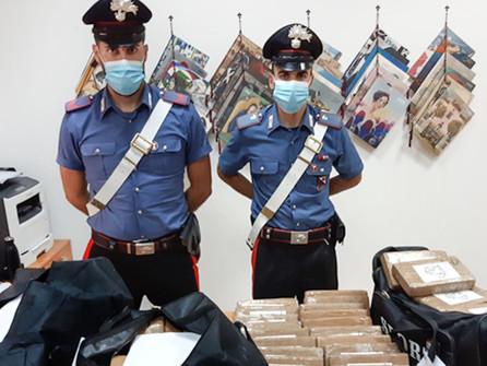 Cocaina: sequestrato un maxi carico a Gioia Tauro