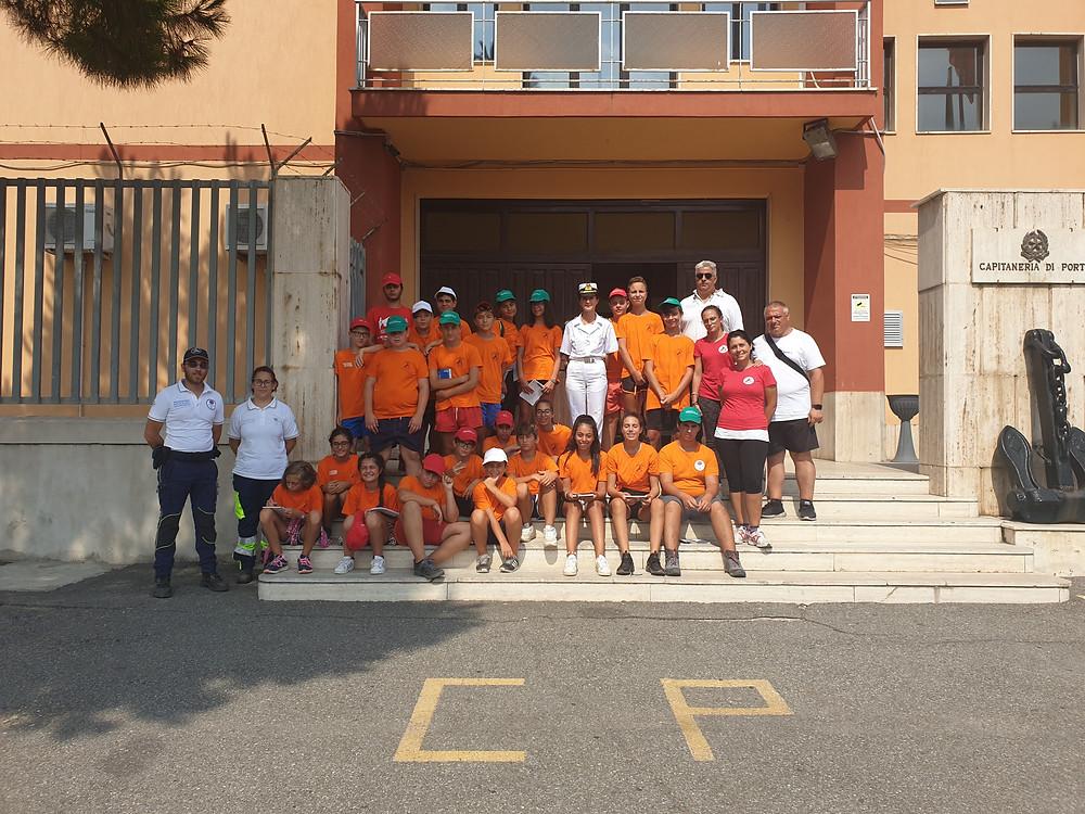 Vibo Valentia, protezione civile augustus