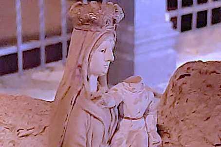 Castrovillari, statua danneggiata
