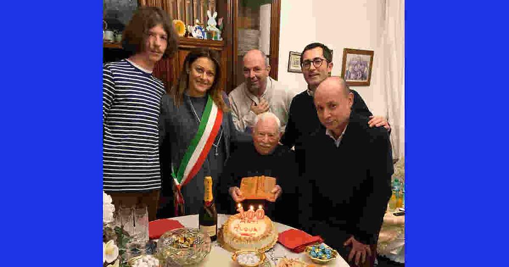 Luigi Gazzaneo cento anni