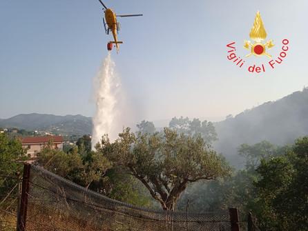 Emergenza incendi: il punto dei Vigili del fuoco - VIDEO