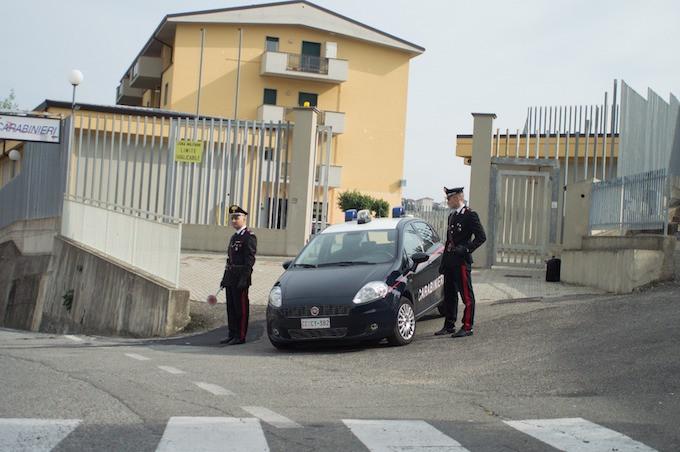 Carabinieri cassano allo Jonio