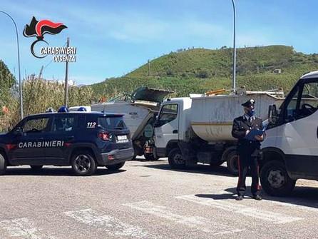 Mendicino, i carabinieri recuperano i 4 mezzi rubati nella notte