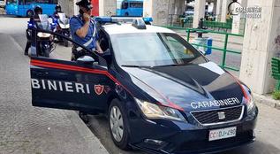 Rende, i carabinieri sequestrano 2 Kg di eroina nascosta nel parcheggio di un centro commerciale