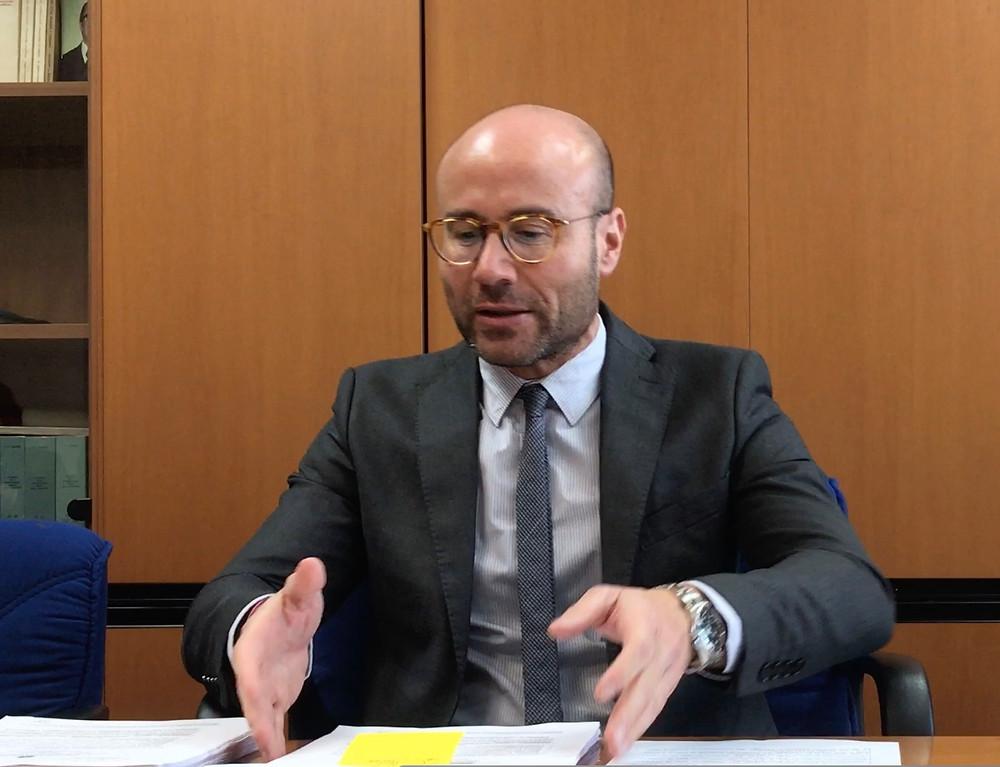 Il Procuratore di Paola, Pierpaolo Bruni