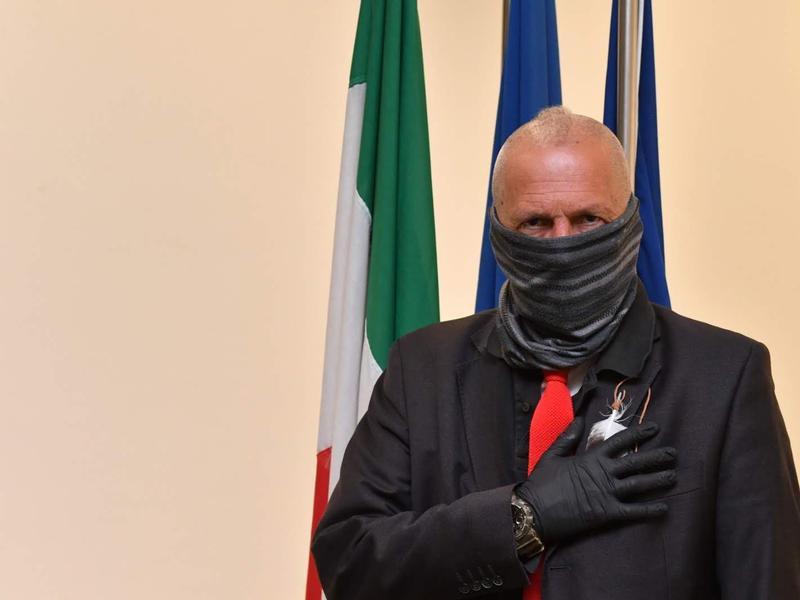 L'assessore regionale Sergio De Caprio
