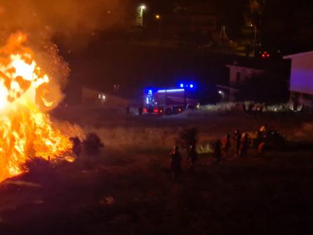 Incendi: la Regione chiede lo stato di emergenza