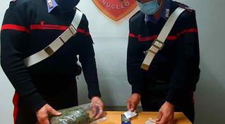 Paola, marijuana nascosta nel contatore: i carabinieri arrestano un 26enne incensurato