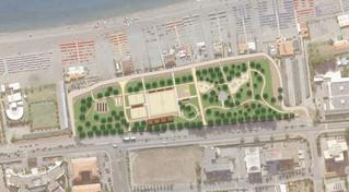 Scalea, nell'area frangivento il progetto di un ecoparco sportivo del mare
