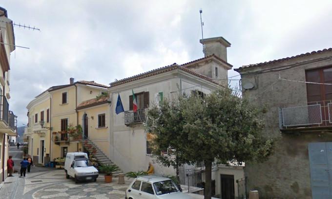 Santa Domenica Talao, Comune