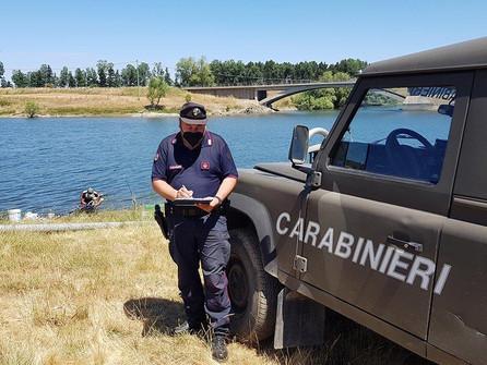 Controlli sul lago Cecita: sanzionati diversi pescatori