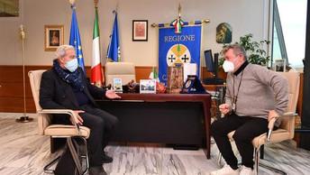 Sanità: il presidente Spirlì incontra il commissario Longo - ▶️ VIDEO