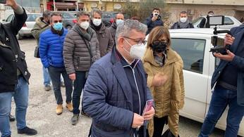 Cariati, ospedale: sopralluogo di Spirlì, in rappresentanza della Giunta - VIDEO