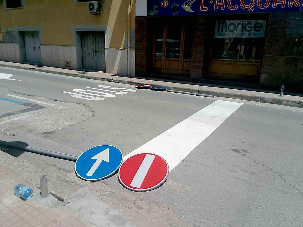 Via Lauro, foto d'archivio