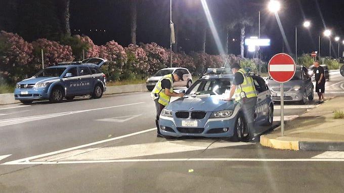 Scalea, controlli polizia stradale