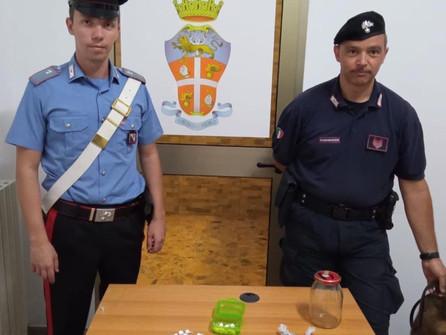 Cocaina e hashish: un arresto grazie al fiuto di Hero