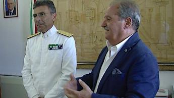 Scalea, conferita la cittadinanza onoraria al Contrammiraglio Giancarlo Russo