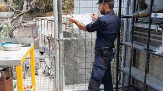 S. Pietro in Guarano: smaltimento illecito e violazioni. Sigilli per un allevamento di cani