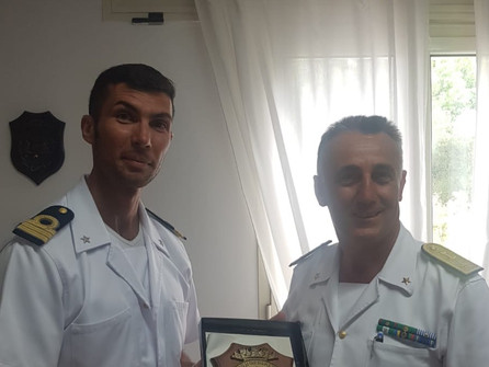 Guardia costiera: visita istituzionale del contrammiraglio Ranieri nell'alto Tirreno
