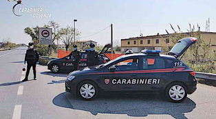 Diamante, un uomo di Belvedere fugge ad un controllo dei carabinieri fermato per resistenza