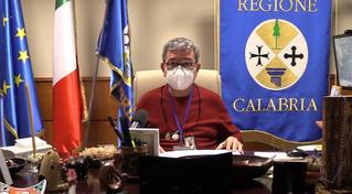 Calabria, nuova ordinanza Covid, Spirlì «insieme ce la faremo»