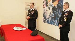 Crotone, il comandante della Legione carabinieri Calabria, Gen. Paterna, ha premiato i militari