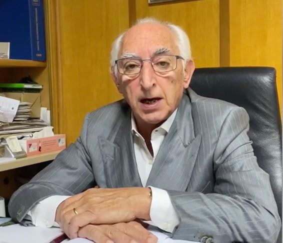 Il sindaco di Belvedere Marittimo, Vincenzo Cascini
