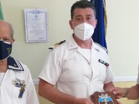 L'associazione marinai d'Italia in visita alla capitaneria di porto di Corigliano Rossano
