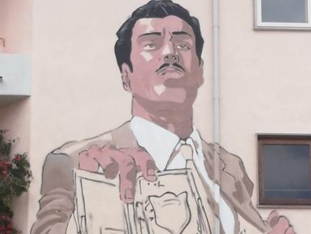 Diamante, sarà inaugurato il 30 luglio il murale dedicato al commissario Mascherpa