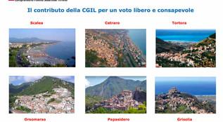 Elezioni amministrative, la Cgil lancia un documento indirizzato alle future amministrazioni