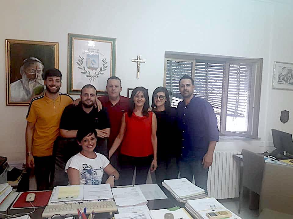 Santa Maria del Cedro, Ugo Vetere e il gruppo di maggioranza