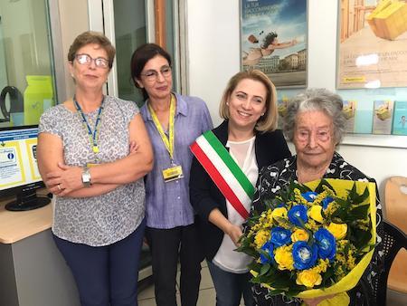 Caulonia, poste italiane, festa, Maria Murdocco,